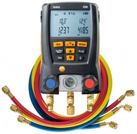 Testo 550 Digital Manifold Kit with Hoses and Bluetooth-