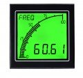 Trumeter APM-RATE-APO APM Rate Meter with Outputs, Positive LCD-