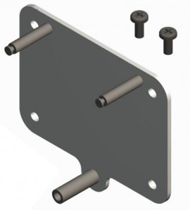 TSI/Alnor 5000-WMBP Wall Mounting Back Plate for 5000 flowmeters-